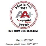 idcom bonitet sertifikat